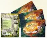 Galactik Trading Card mit meiner Arbeit