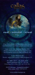 Flyer real-surreal-irreal
