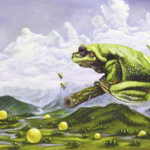 Traum eines Frosches