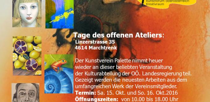 (Deutsch) Tage des offenen Ateliers in Marchtrenk