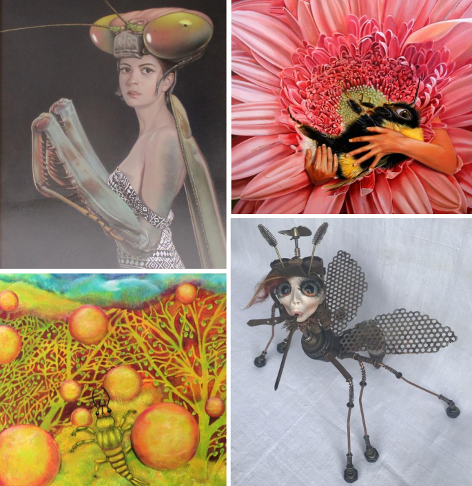 """""""Ars Insectum"""" in der 4614 Galerie Marchtrenk (AT)"""